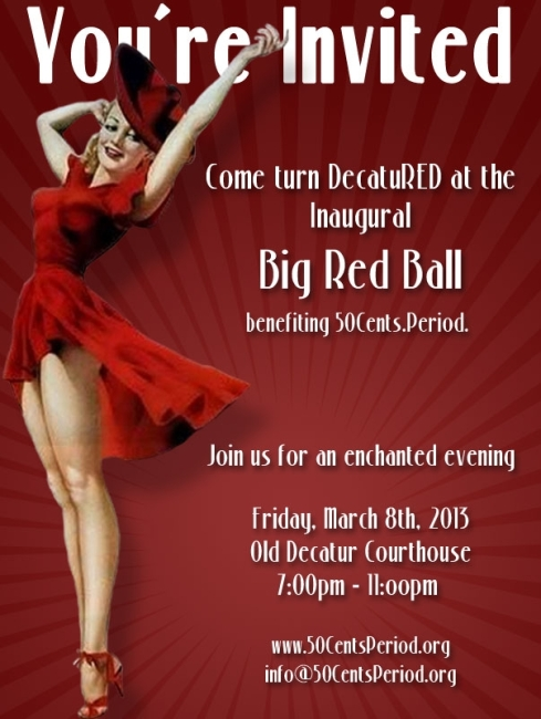 Big Red Ball invite